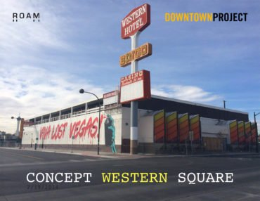 Transformation Western Casino & Parking Downtown Project Las Vegas