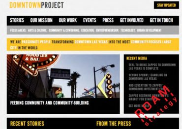 Urban Development Downtown Project Las Vegas